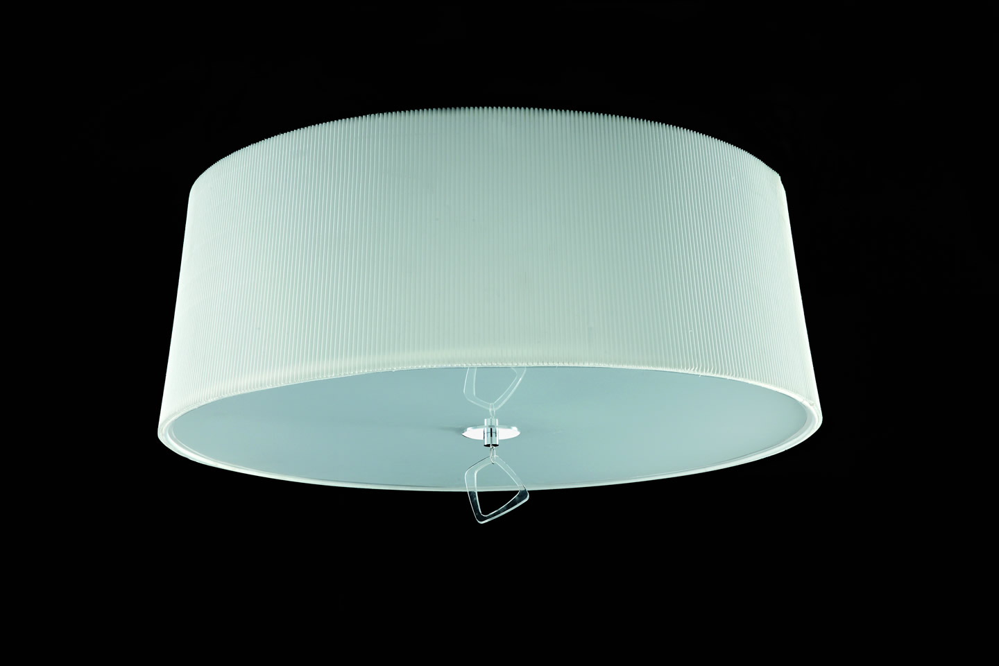 Mara ceiling lamp ø55cm 4xE27 20w Chrome/white
