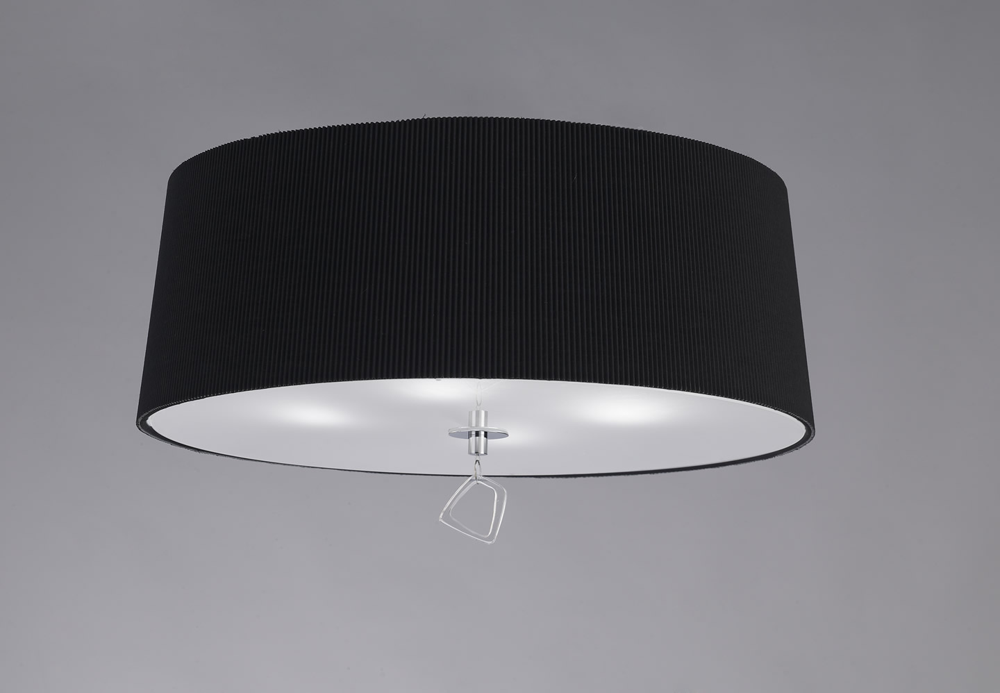 Mara ceiling lamp ø55cm 4xE27 20w Chrome/Black