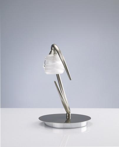 Loop Table Lamp G9 1x33w Nickel Satin
