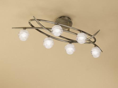 Loop ceiling lamp 6L 6 x max 33w G9 Eco (OSRAM) CUERO