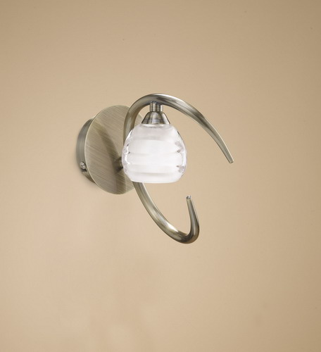Loop Wall Lamp 1L 1 x max 33w G9 Eco (OSRAM) CUERO