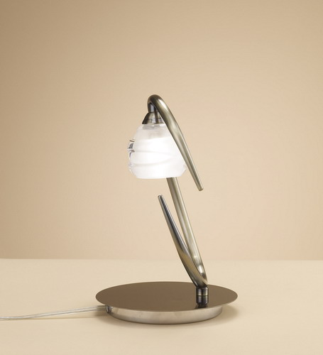 Loop Table Lamp G9 1x33w leather