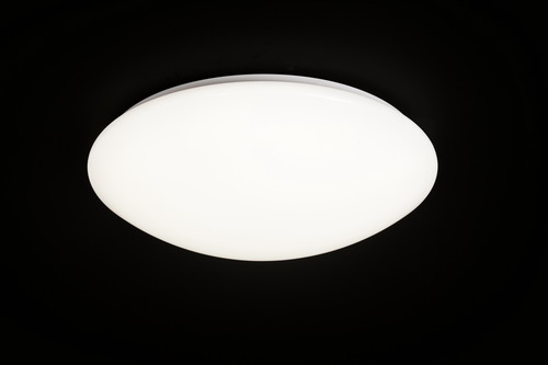 Zero ceiling lamp LED Round 55cm 6500K 3000K with Mando 55w 3800 LMS white