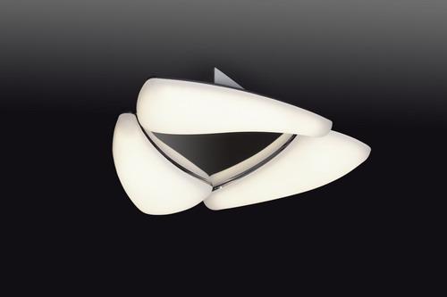 Mistral ceiling lamp 3L Chrome 3000K 1380LMS
