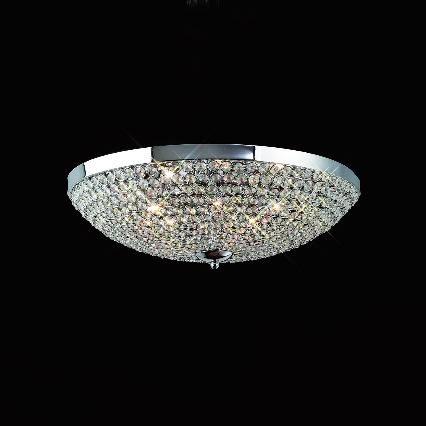 Mantra Glass 460 ceiling lamp 6L Glasses 6x40w G9 Glass