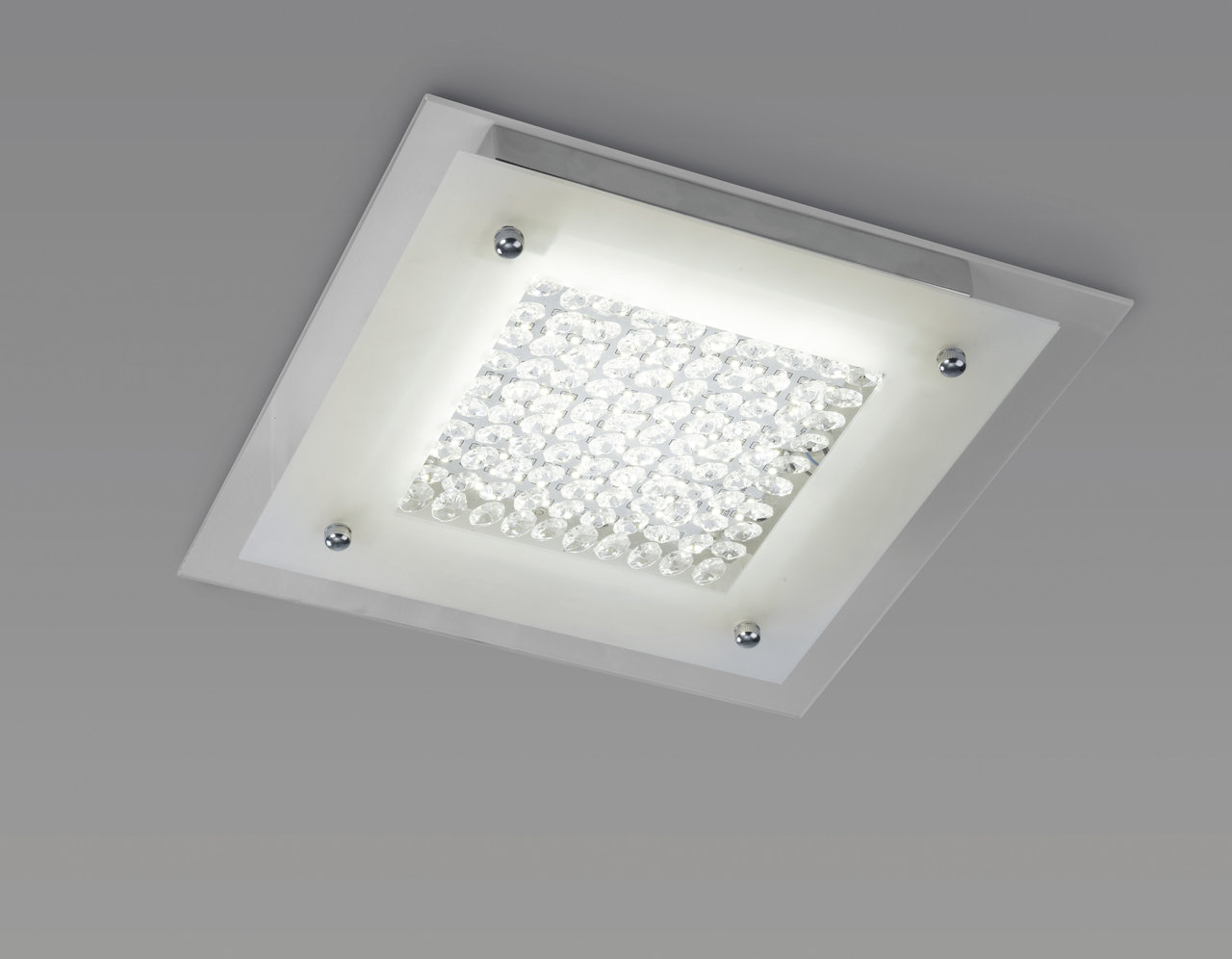 Mantra Glass LED ceiling lamp 21w 2100Lm 45Cm 4000K LED 21w Glass