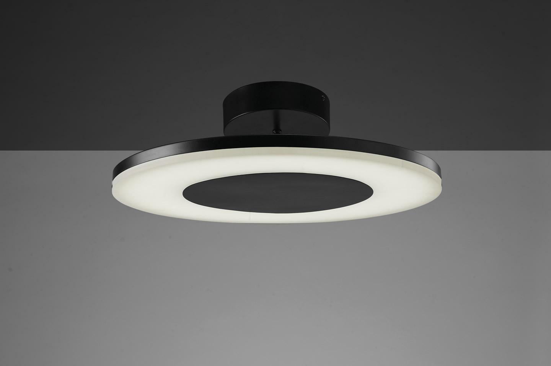 Discobolo Plafón Circular 48Cm LED 36w negro