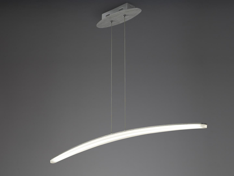 Hemisferic Lamp 1L Large LED 28w Aluminium