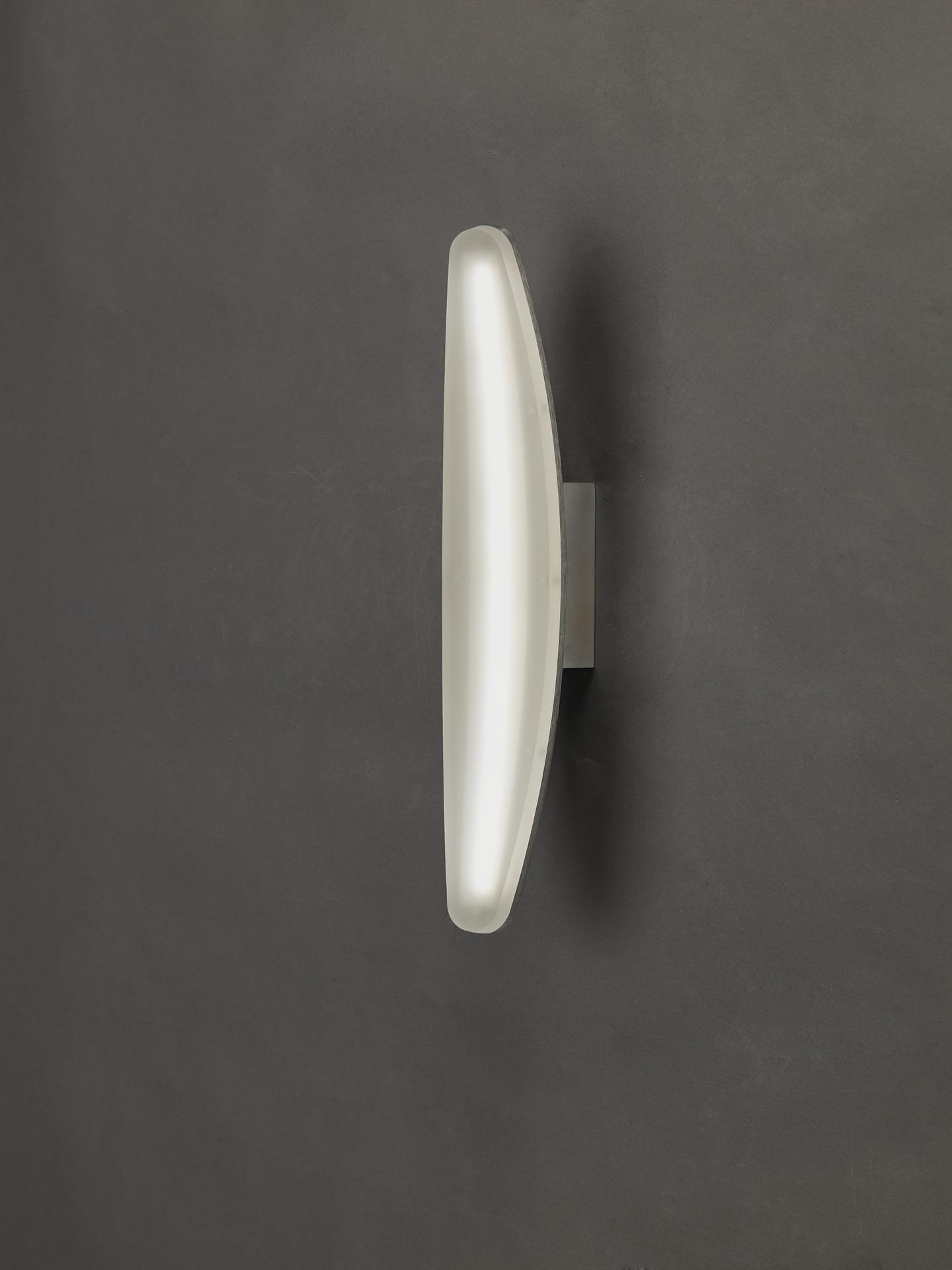 Hemisferic Aplique 1L LED 6w Aluminio