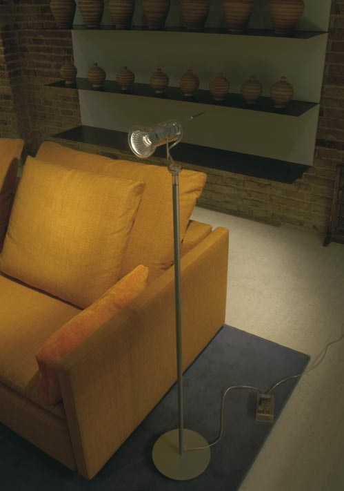 Atlas mini lámpara of Floor Lamp 118cm Transparent