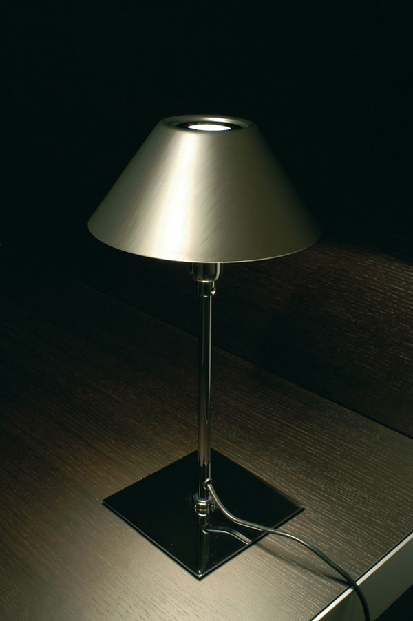 Alta S Table Lamp Large Chrome mate