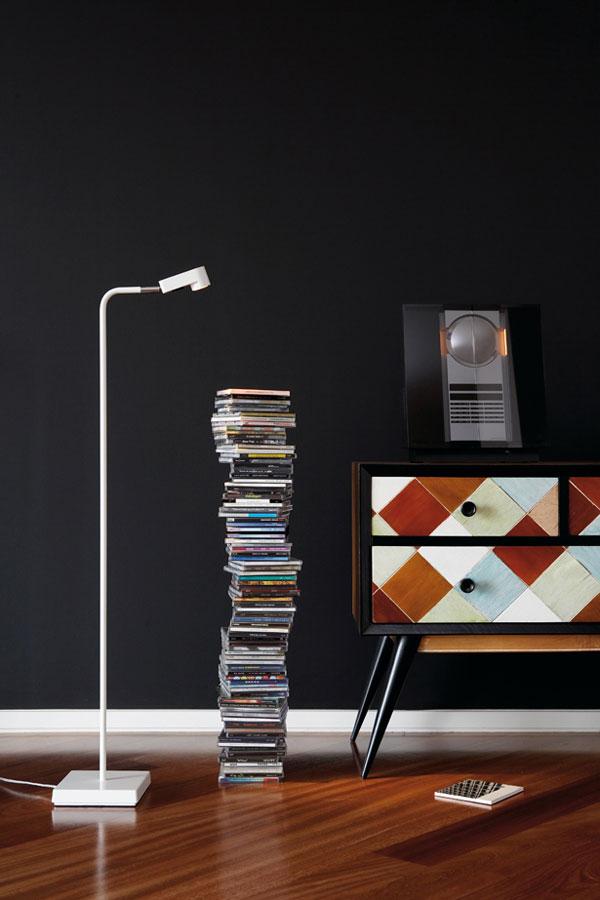 Ledpipe Floor lamp 101cm LED 3w White