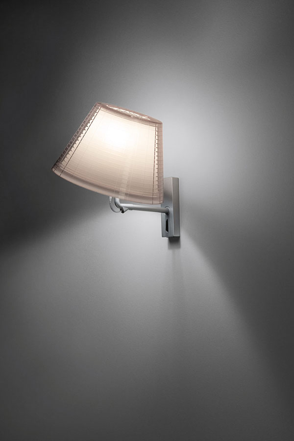 Nolita A Wall lamp Aluminium E14 46W Transparent