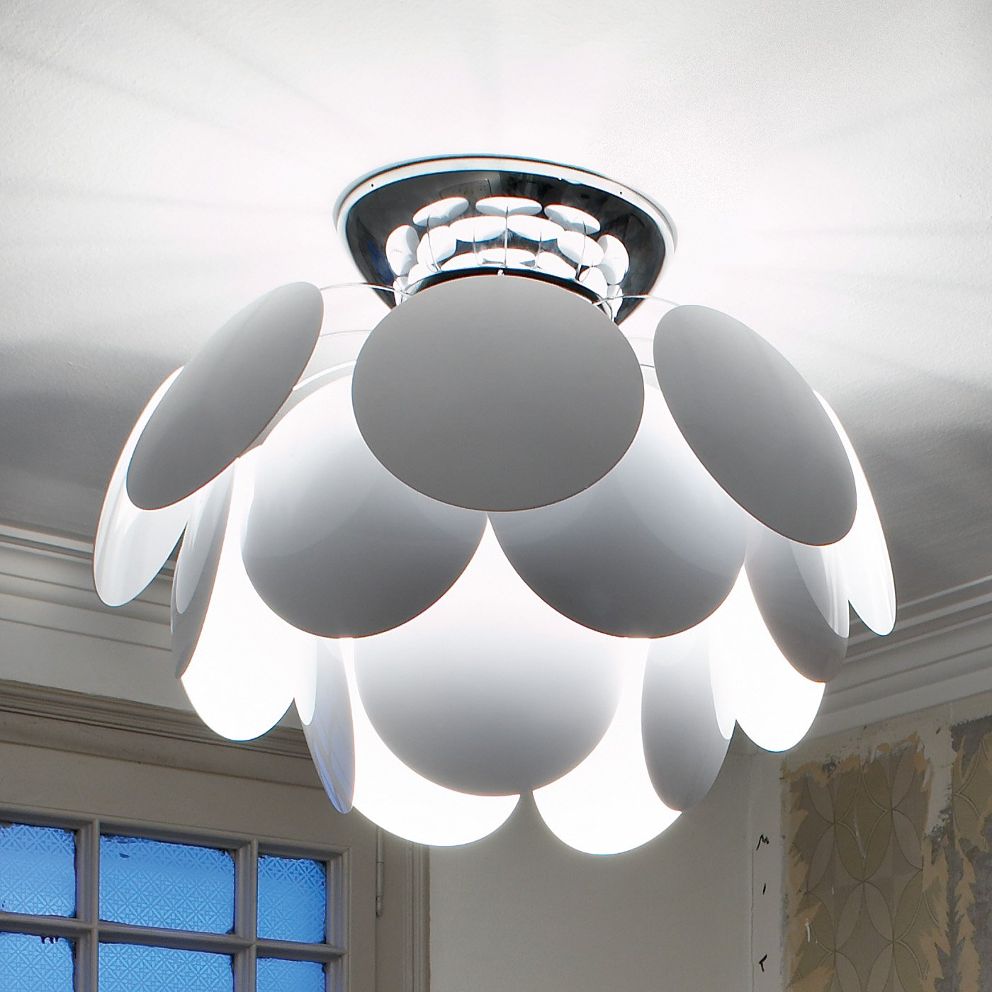 Discocó C68 Ceiling lamp ø68 Matt Grey