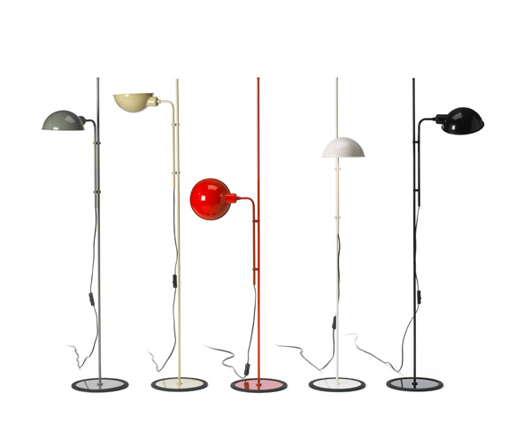 Funiculí­ Floor Lamp 135cm E27 18w Red