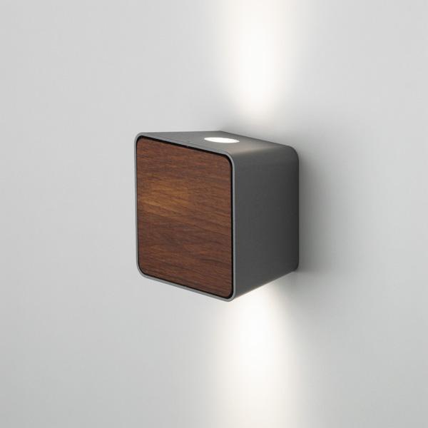Lab Accesorio Tapa para Aplique Iroko Oscuro