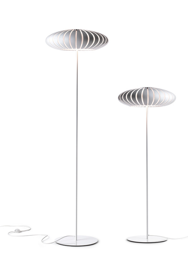 Maranga P170 Big floor lamp E27 3x18w White