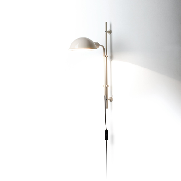 Funiculí­ to Wall Lamp E14 46W White