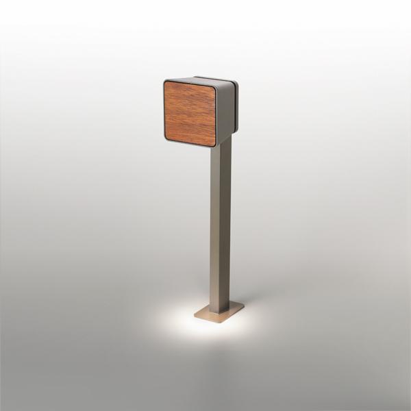 Lab Pole Beacon Outdoor Grey