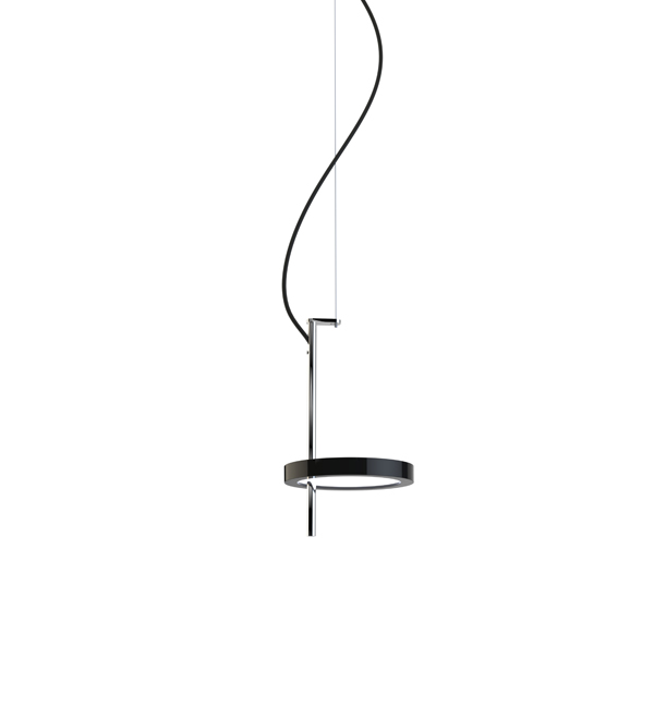 Nenufar 1 Pendant Lamp LED 9W 24V 2700K 700lm Black