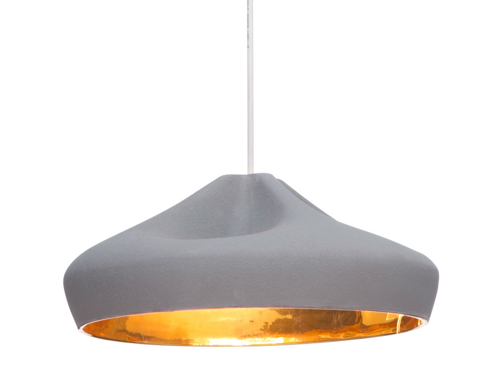 Pleat Box 36 Pendant lamp ø34cm E14 9w Terracotta White