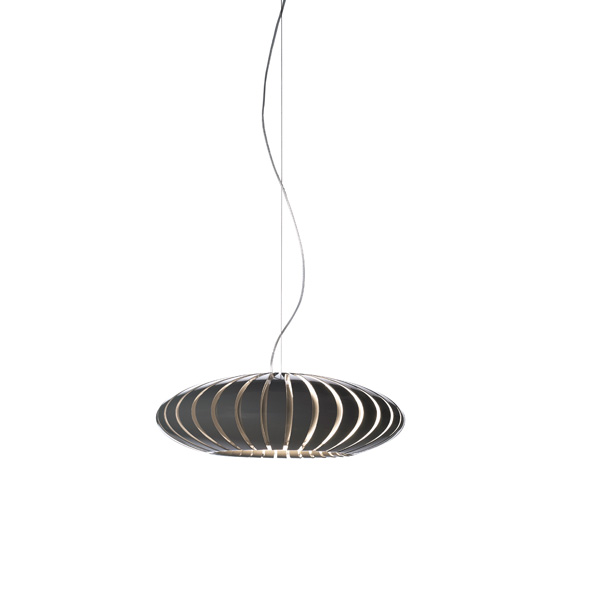 Maranga 50 Big pendant lamp E27 3x18w Grey