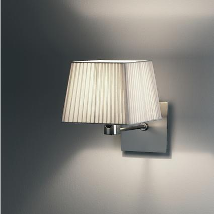 Cotton Wall Lamp mini Chrome mate
