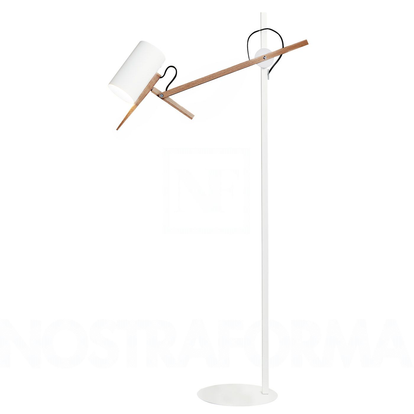 Scantling P73 lámpara of Floor Lamp E27 PAR20 50W white