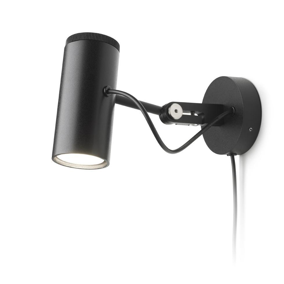 Polo to Wall lamp with wall base LED 7W 350mA 3000K 520lm Black