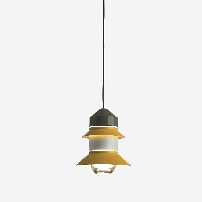 Santorini Pendant lamp E27 LED Classic 8W Mustard