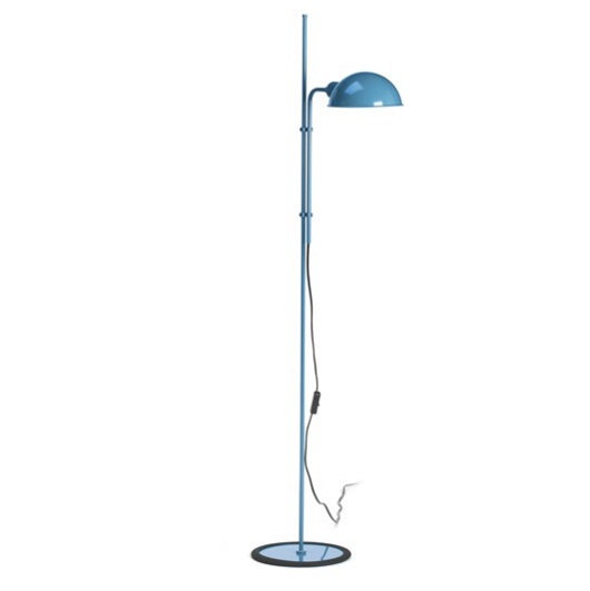Funiculí­ Floor Lamp 135cm E27 18w Blue