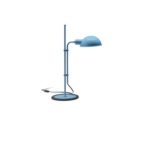 Funiculí­ S Lampe de table E14 46W Bleu