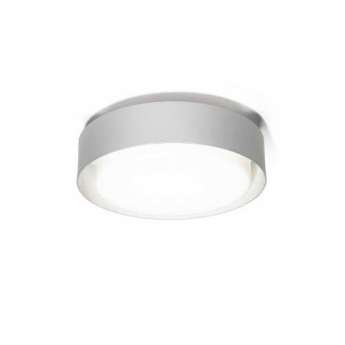 Plaff-On! 20 Wall lamp/Plafon Ø20cm LED 8W Grey Silver