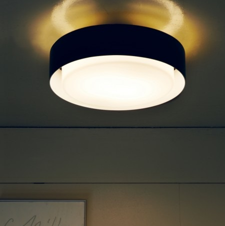 Plaff-On! 20 Wall lamp/Plafon Ø20cm LED 8W Black