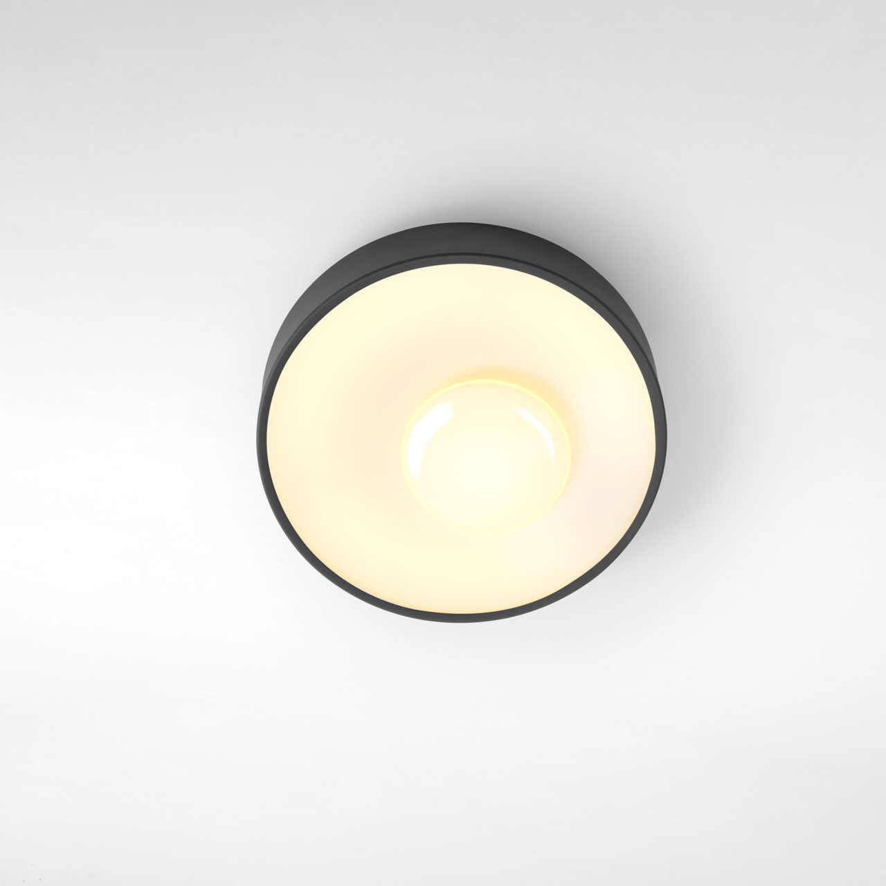 Sun Plafón 26 LED 12.8W Grafito (Dimmable)