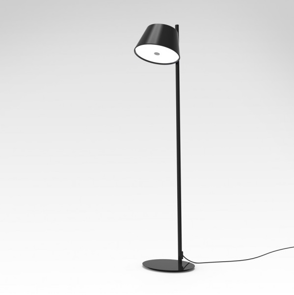 Tam Tam Floor Lamp 1 light Structure Black