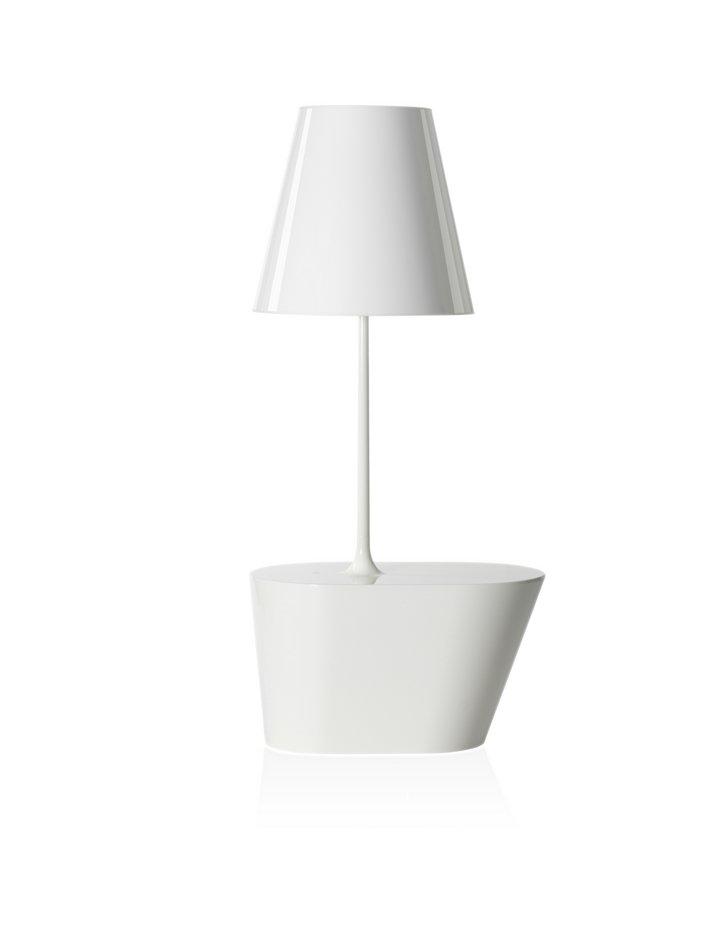 América (Solo Estructura) Lámpara de Pie sin pantalla E27 2x70W Blanco