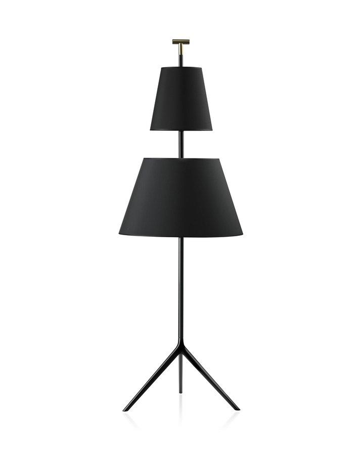 Bastone gr lámpara de Pie básico blanco