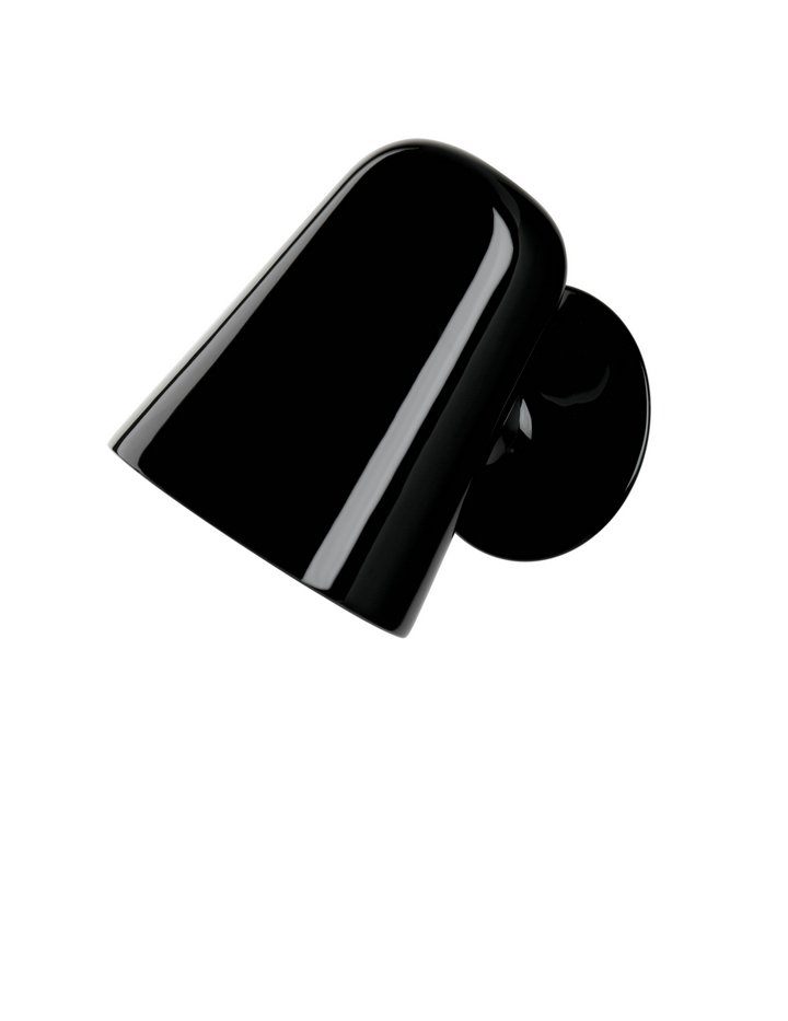 Funghi Wall Lamp E14 Eco Hal Máx 42W Black