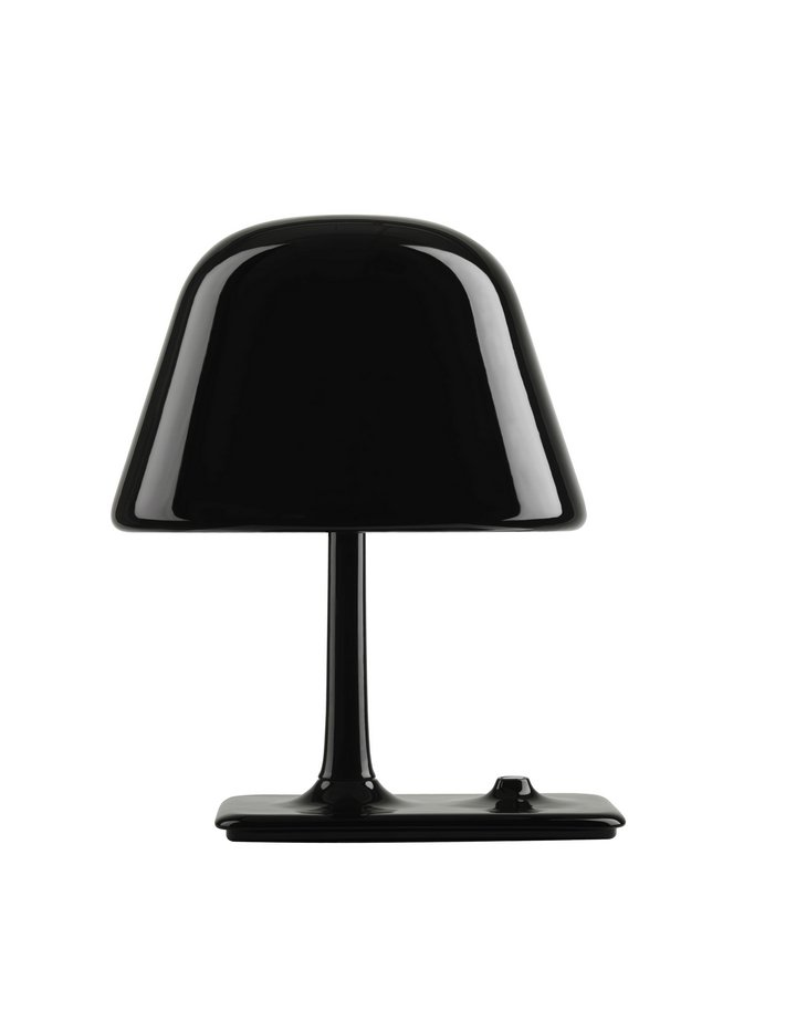 Funghi Table Lamp Large E14 Eco Hal Máx 3 x 42W Black