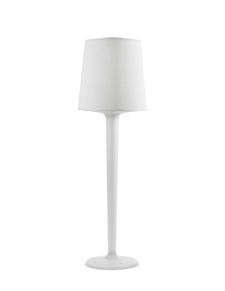 Inout lámpara de Pie Mediana de Exterior Amarillo
