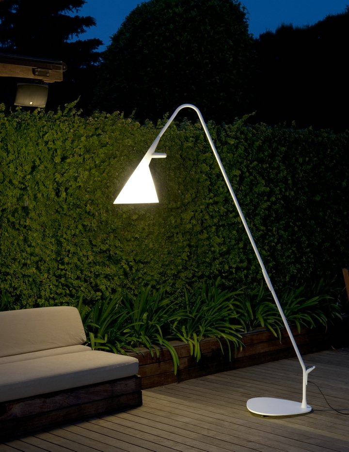 Matt Outdoor Floor Lamp