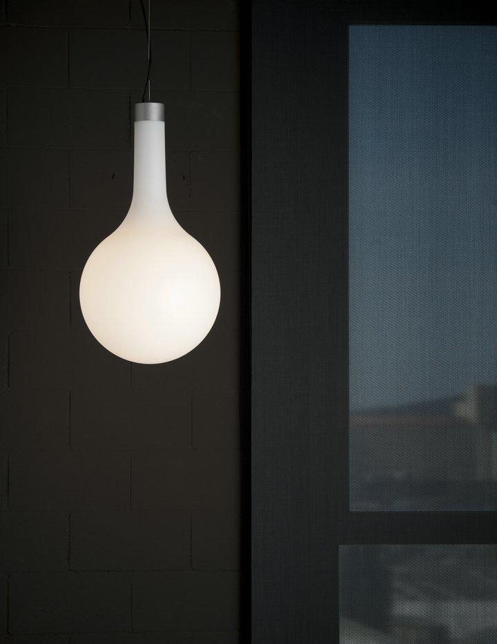 Nanit t1 Lámpara Colgante Florón y grupo eléctrico sin difusor E27 70W Aluminio blanco