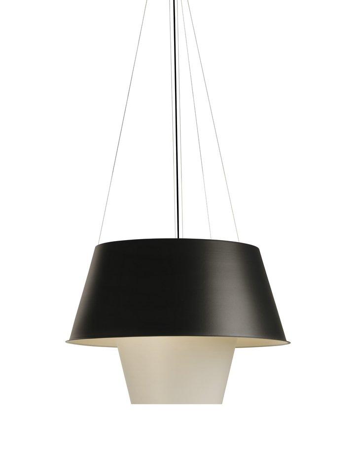 Tanuki gr Lamp Pendant Lamp Halogen Black/Green white