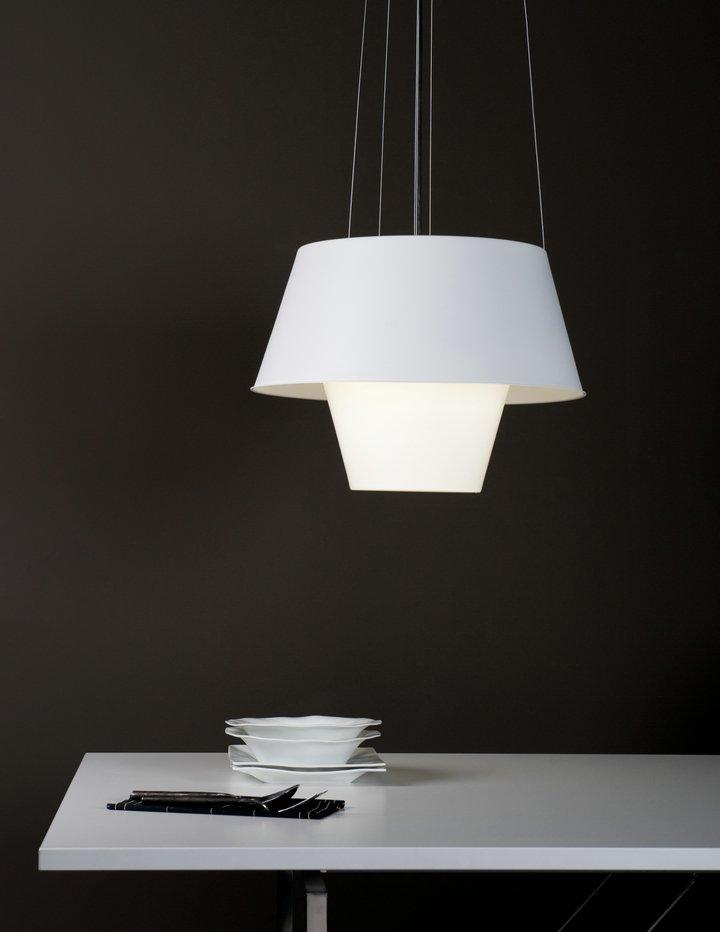 Tanuki pe Lamp Pendant Lamp white