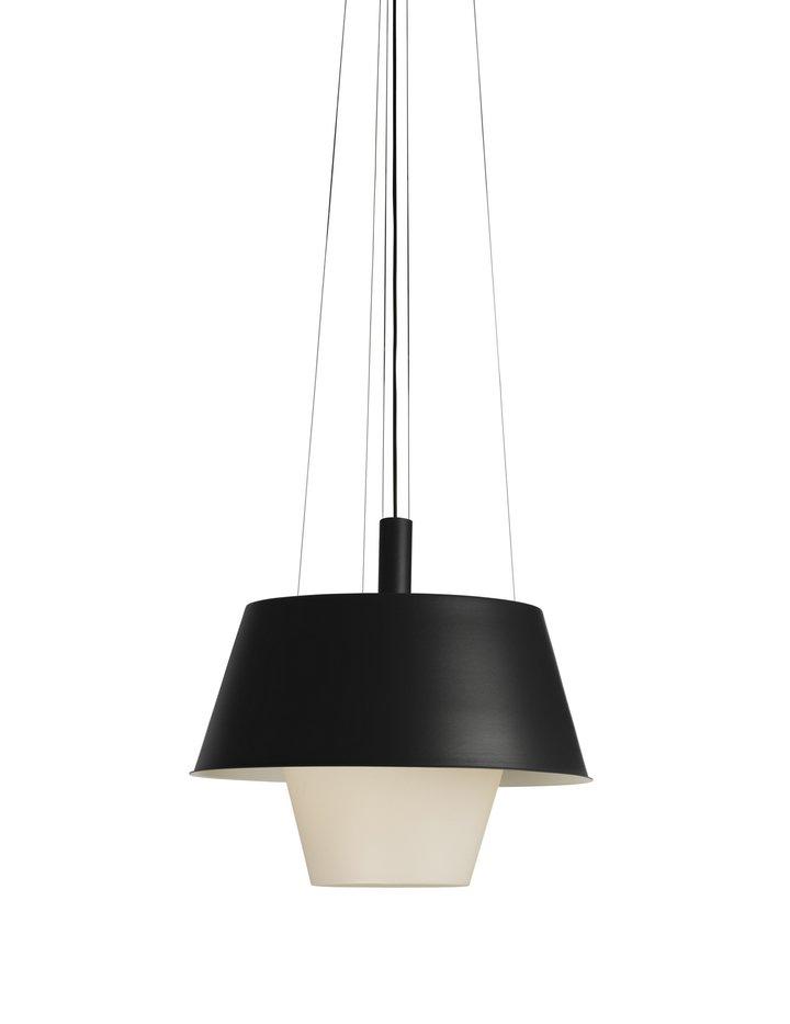 Tanuki pe Lamp Pendant Lamp Black/white