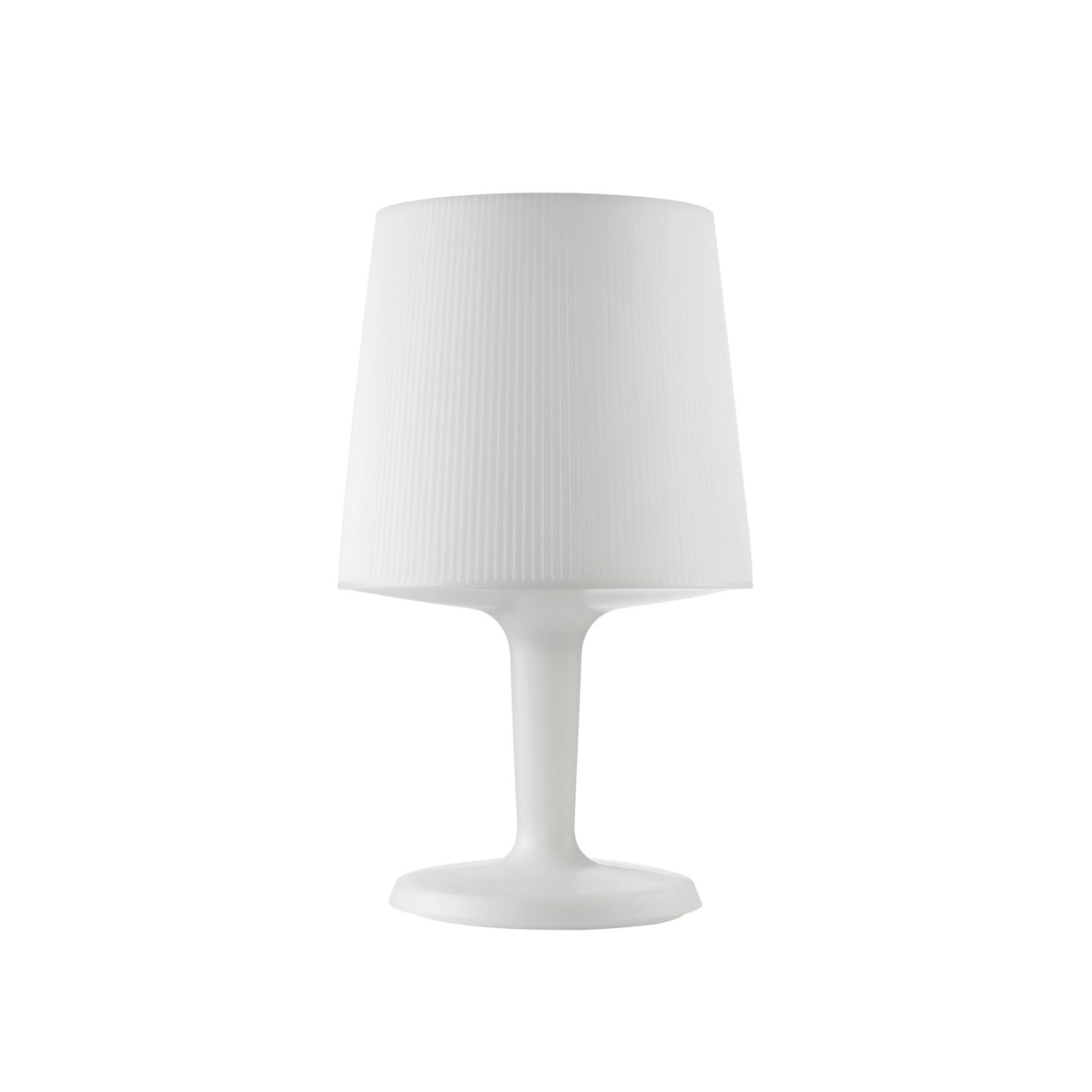 Inout Table Lamp Small of indoor white