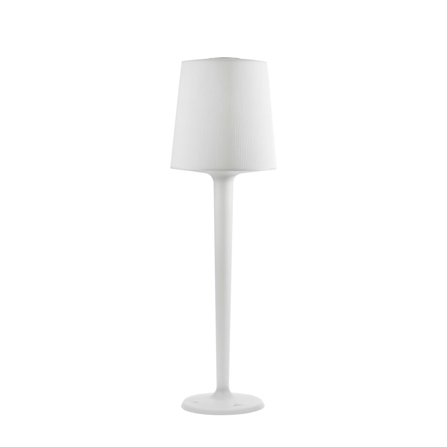 Inout Floor Lamp Medium of Outdoor white