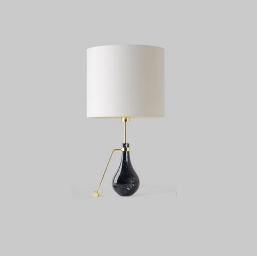 Eva m Gr (Structure) Table Lamp mármol Black