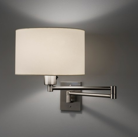 Hansen 1706 Wall Lamp níquel mate